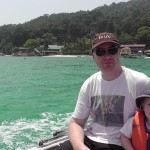 Taxi Boat Between the Perhentian Islands