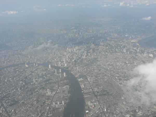 Bangkok from Plane, Bangkok from Air