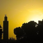 The Koutoubia at sunset