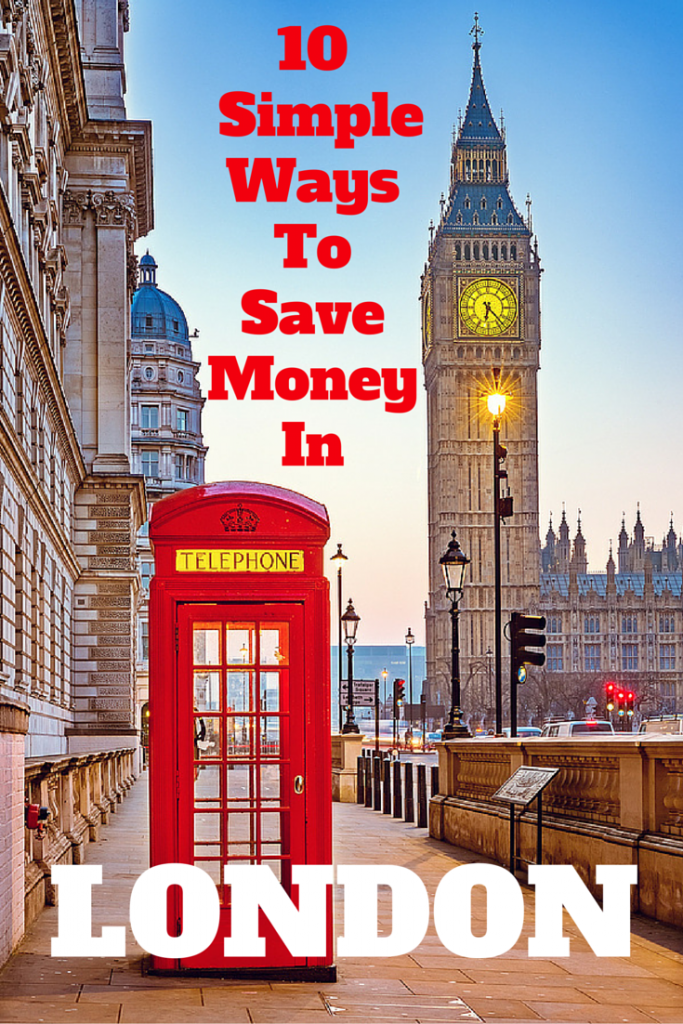 10 Simple Ways to Save Money in London