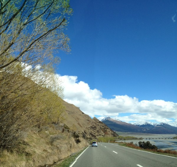 Christchurch to Greymouth Drive, New Zealand