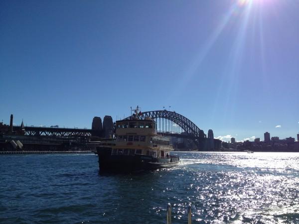 Ferry in Sydney Harbour, Sydney, Australia
