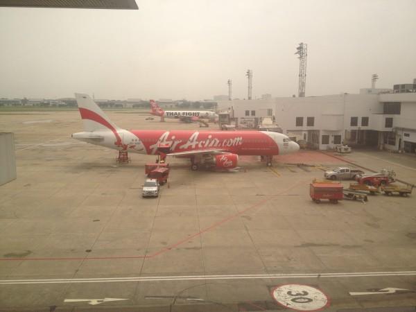 Air Asia Plane in Bangkok, Thailand