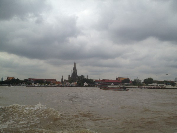 Wat Arun from the River, Bangkok, Thailand