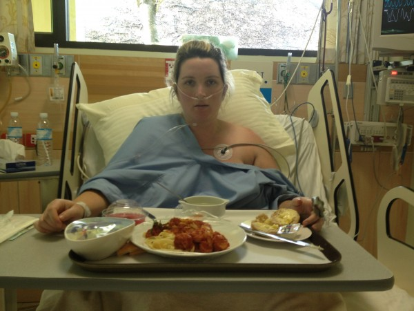 Lunch in Hospital in Koh Samui, Thailand