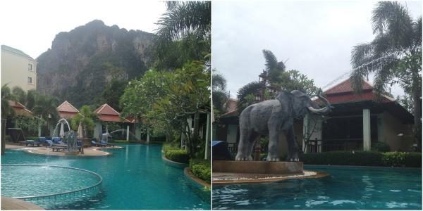 Swimming Pool at Ao Nang Orchid Resort, Krabi, Thailand