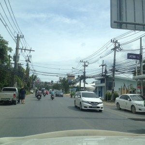 Driving in Koh Samui, Thailand, 2