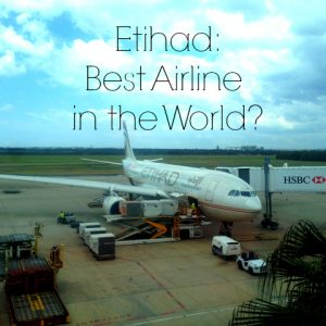Etihad Best Airline in World