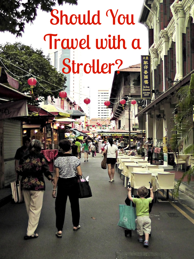 Should You Travel with a Stroller