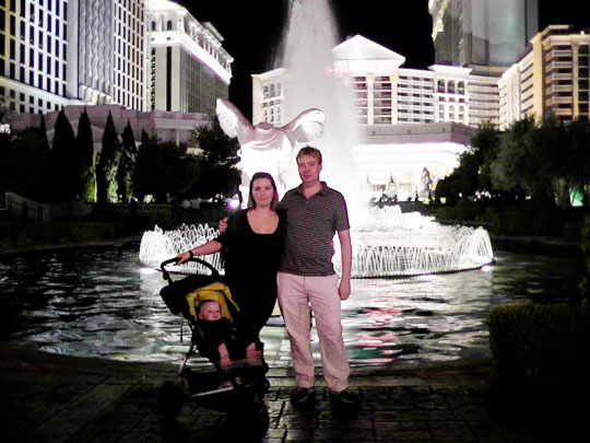 Our trip to Las Vegas in 2011