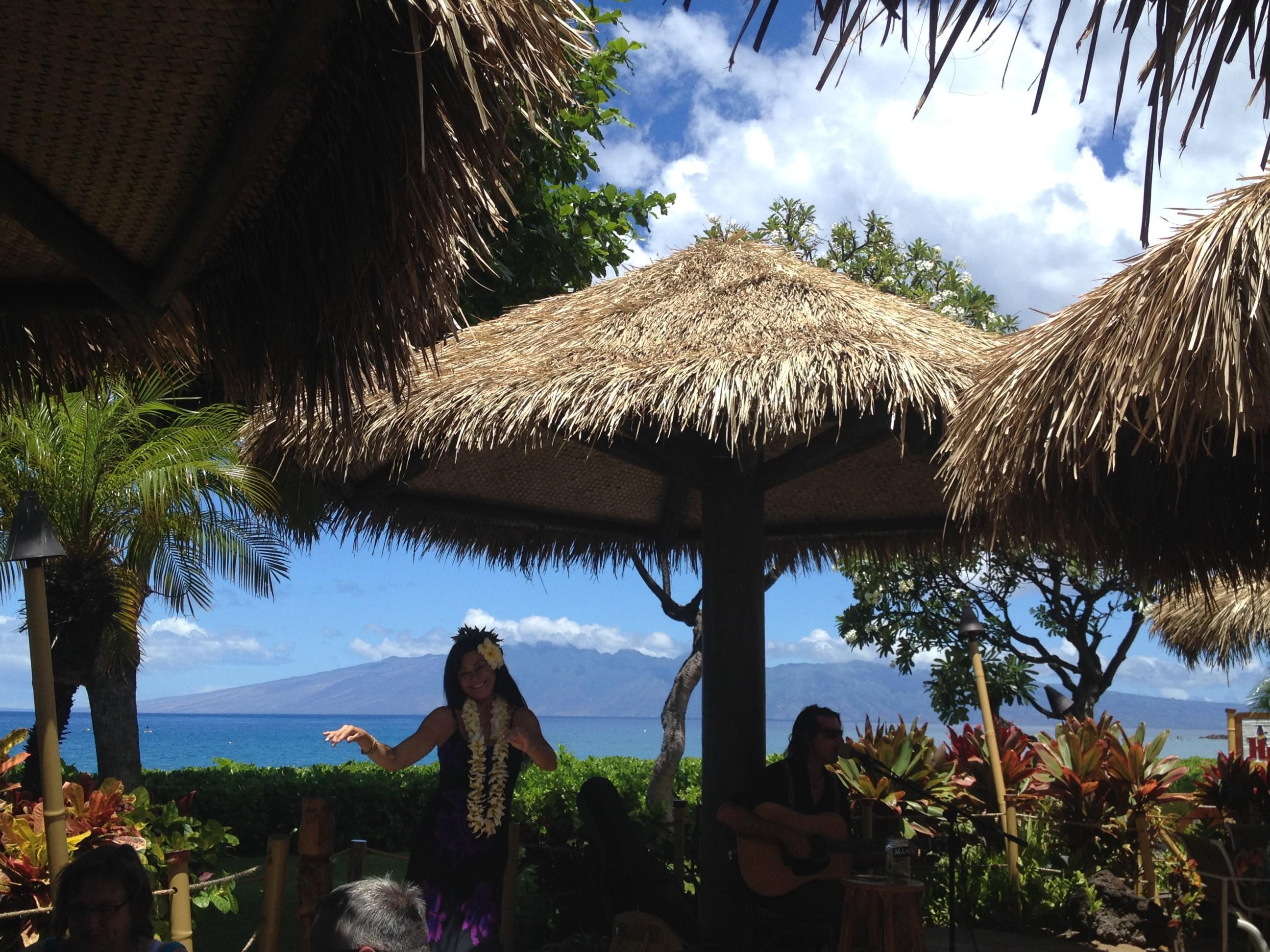 Hula at Hula Grill, Kaanapali, Maui, Hawaii