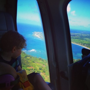 Kauai Island Helicopter Tour with Kids and Babies, Hawaii 12