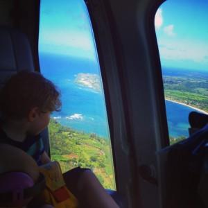 Kauai Island Helicopter Tour with Kids and Babies, Hawaii 12