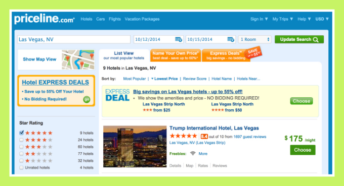 Book Five Star Hotel in Vegas - Amazing Priceline Hack