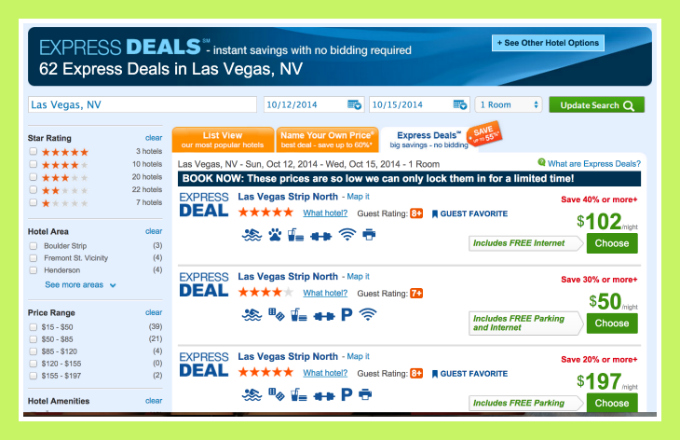 Book Five Star Hotel in Vegas Amazing Priceline Hack