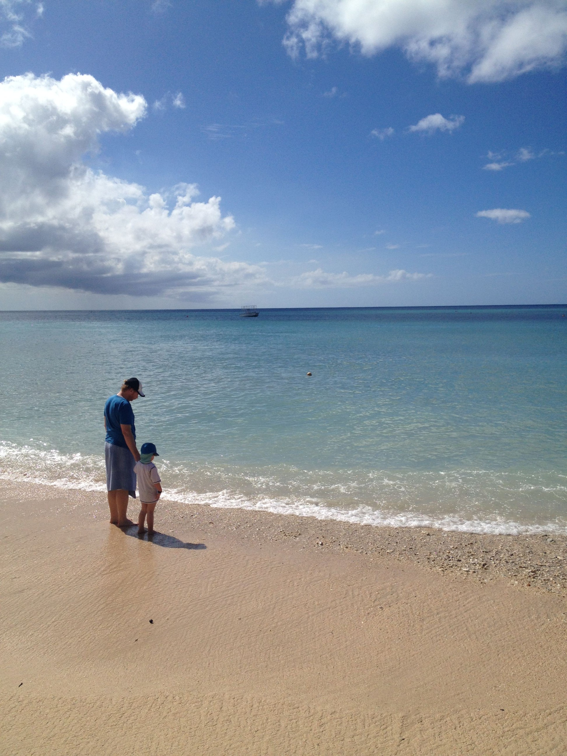 Dipping Our Toes into the Caribbean Sea, Barbados