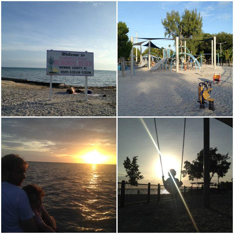 Sunset Pier, Playground and Beach, Key West