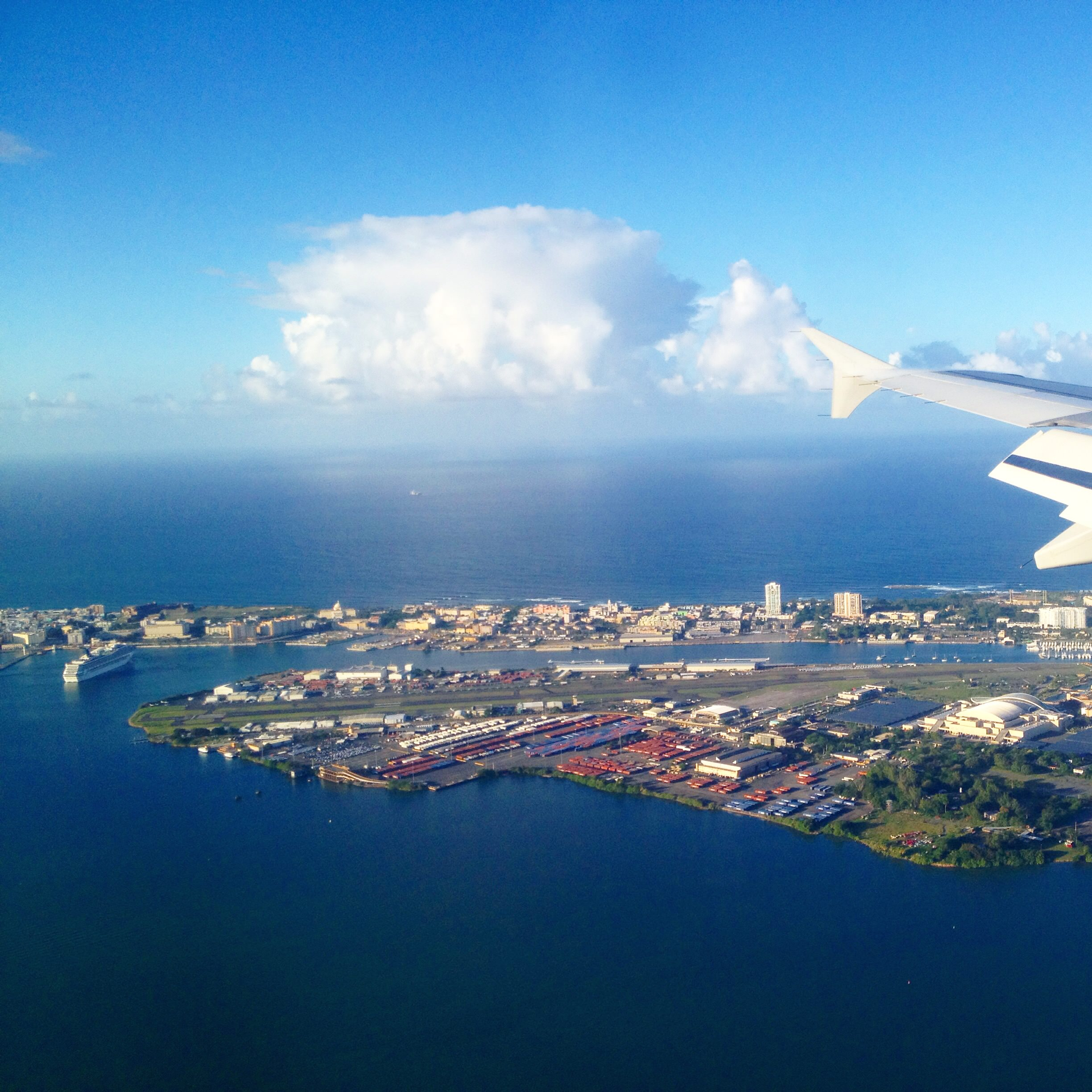 Flying into San Juan, Puerto Rico with Jet Blue