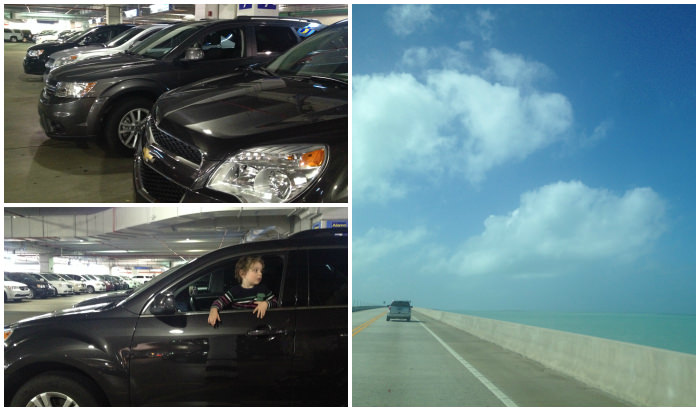 Hiring a Car in the US, Chevy Equinox in Miami