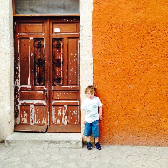 Reuben in Valladolid, Mexico