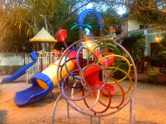 Reuben, Playground in Valladolid, Mexico