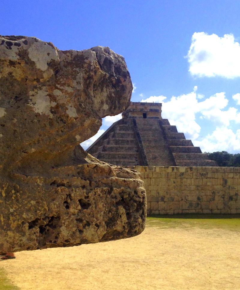 Chitchen Itza in Mexico