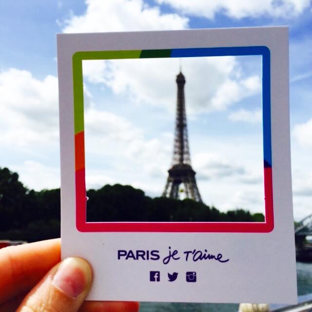Paris Je T'aime Eiffel Tower Instagram