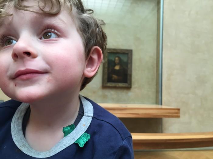Reuben and the Mona Lisa