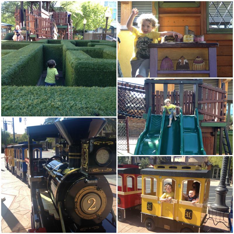 Town Square Las Vegas Playground and Train