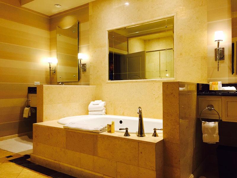 Bathroom, Siena Suite, The Palazzo, Las Vegas