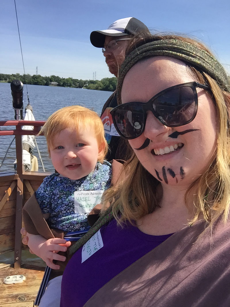 Bethaney and Hazel, Ottawa Pirate Adventures
