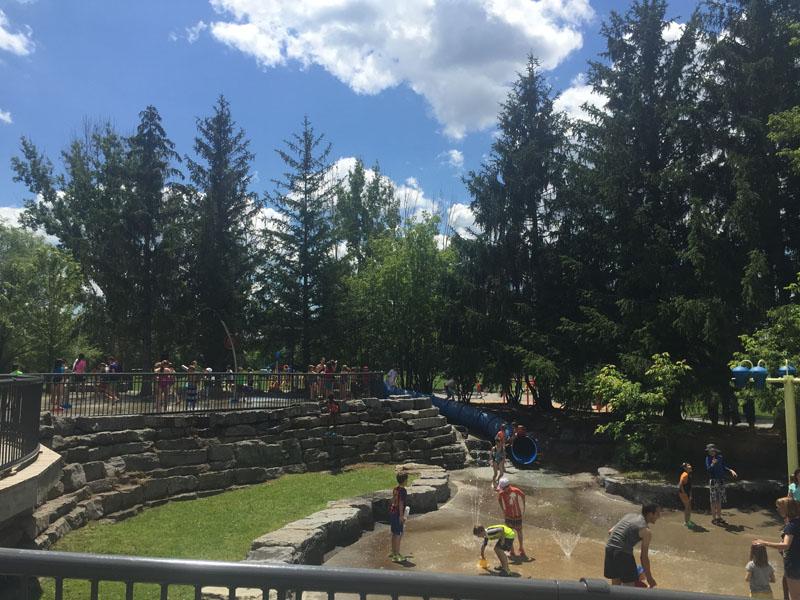 Brewer Park, Water Park in Ottawa