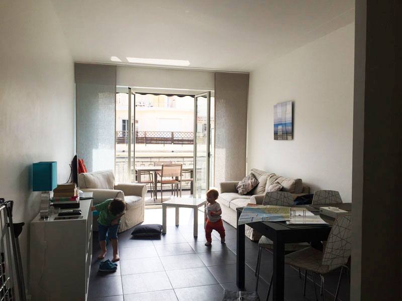 Our Aibnb in Nice, France