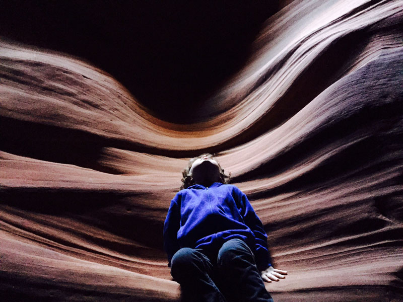 Reuben, Angel Wings, Antelope Canyon