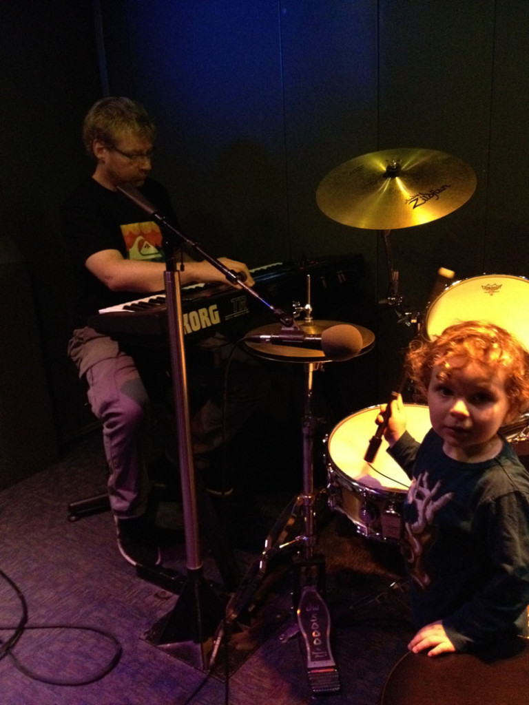 Reuben-at-the-EMP-Seattle, Things to Do in Seattle with Kids