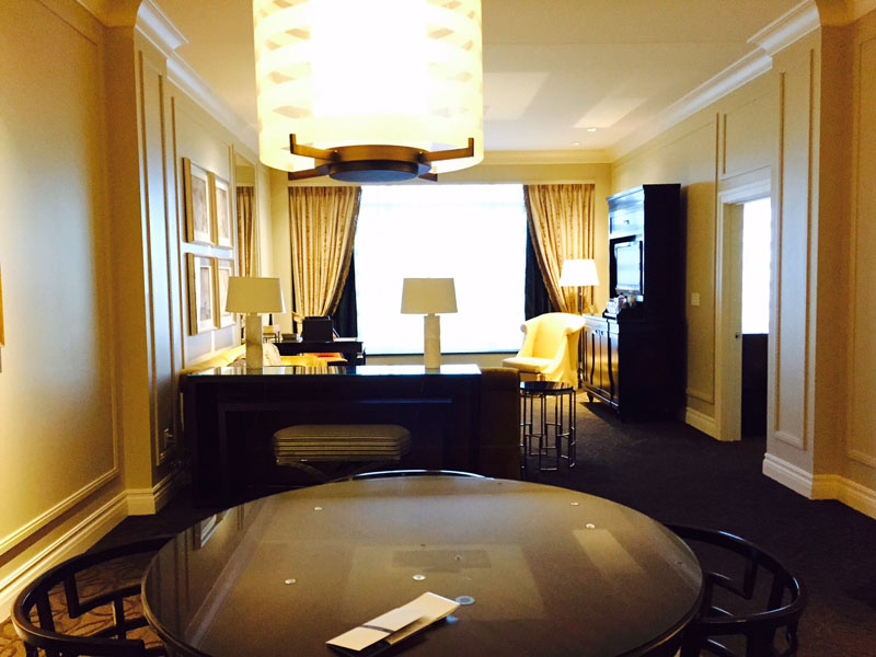 Siena Suite, The Palazzo, Las Vegas, 20 dollar trick las vegas: