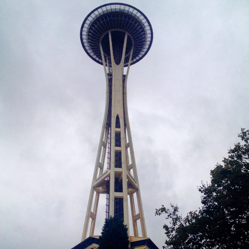 Space-Needle-Seattle, Things to Do in Seattle with Kids