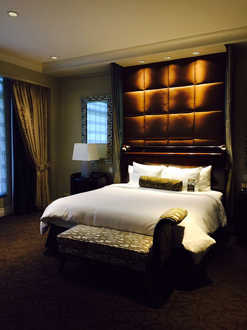 The Bed, Siena Suite, The Palazzo, Las Vegas