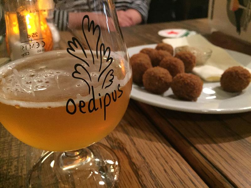 Bitterballen and Beer