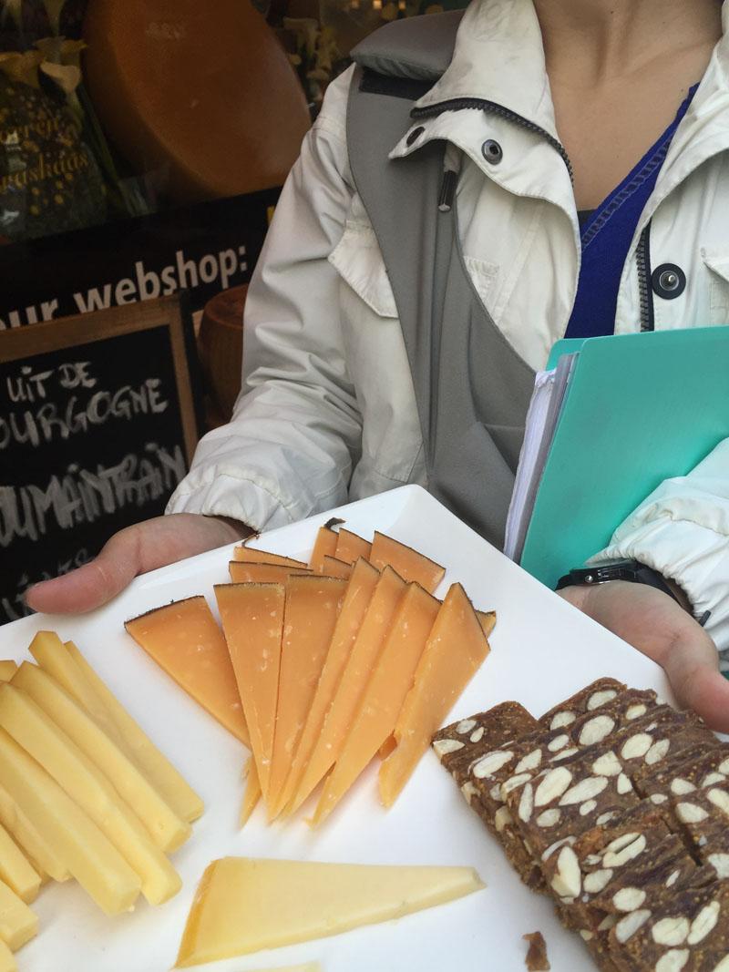 Cheese Tasting Platter, Amsterdam Food Tour