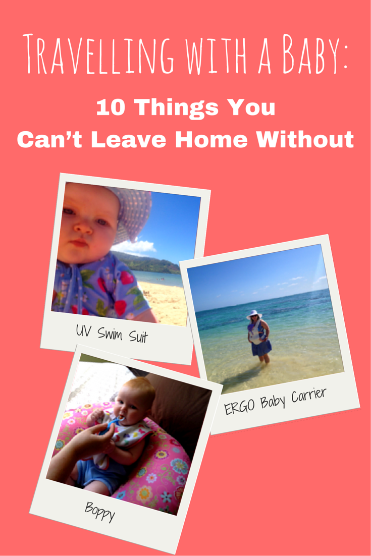 baby travel gear Travelling with a Baby 10 Things You Can't Leave Home Without