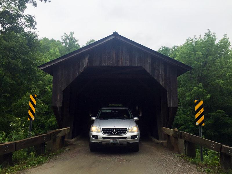 Covered Bridge Near Smuggler's Notch, Vermont