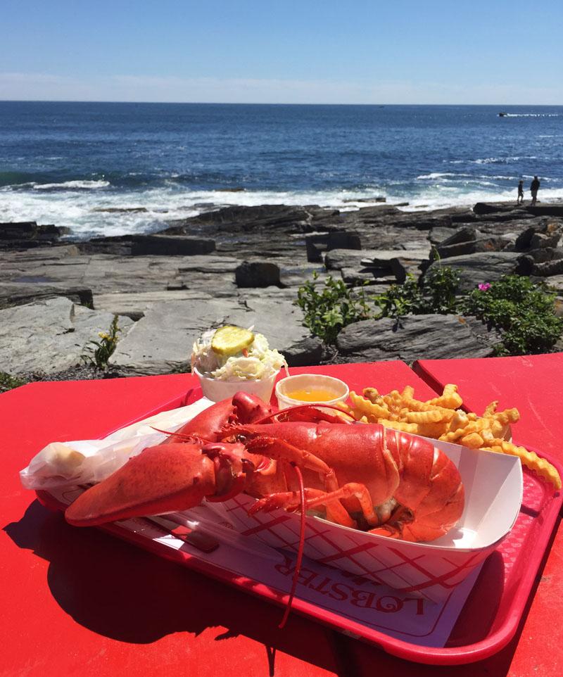 Lobster Dinner, Cape Elizabeth, Maine
