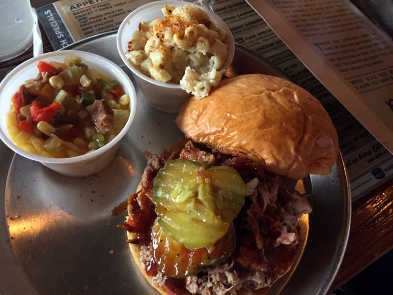 Southern Food, Pulled Pork Sandwich, Nashville, Tennessee