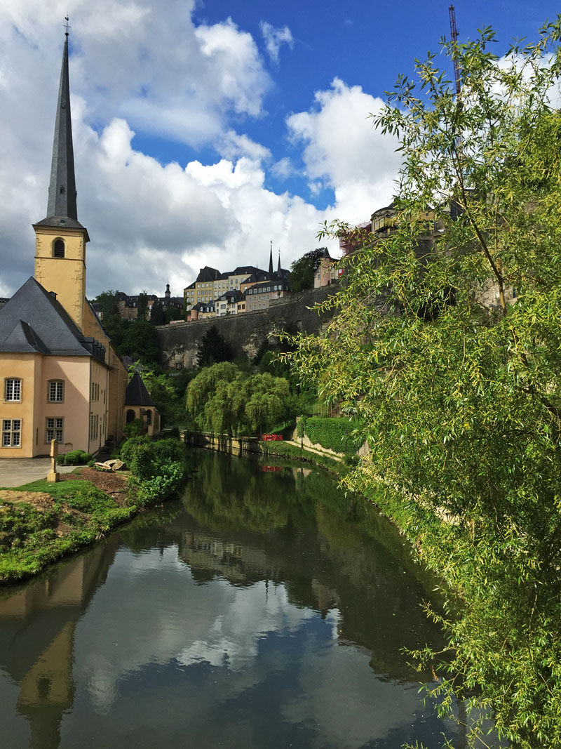 Beautiful Luxembourg City