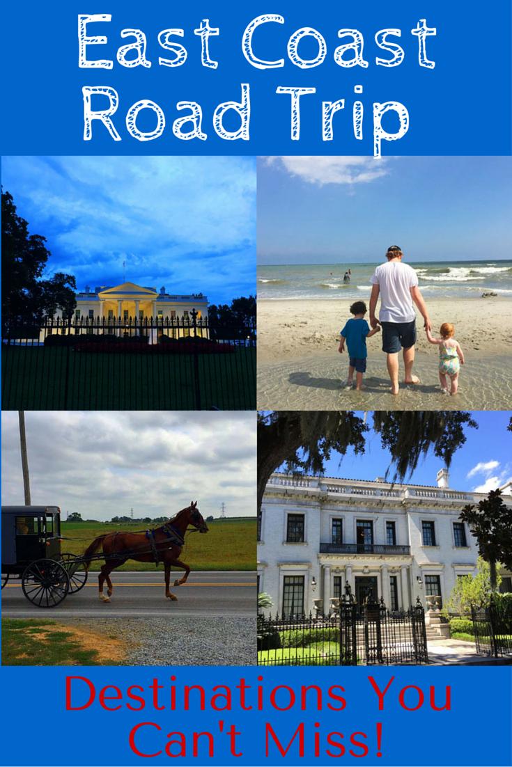 East Coast Road Trip Destinations You Can't Miss!