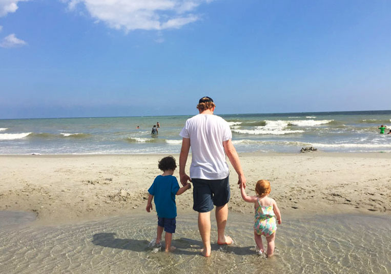 Flashpacker Family at Myrtle Beach, East Coast Road Trip