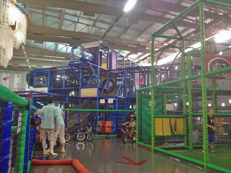 Funarium Bangkok, INdoor playground Bangkok for kids