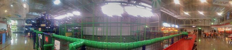 Panorama of Funarium Bangkok Indoor playground