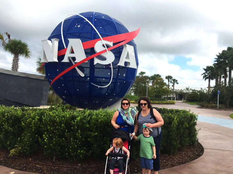 Kennedy Space Center, Cape Canaveral Florida, East Coast Road Trip
